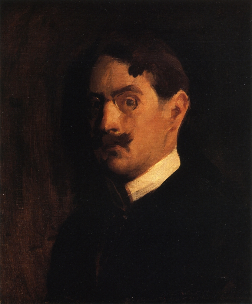 Edmund C. Tarbell, Autorretrato