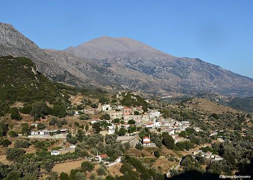 mountain landscape islands village greece crete χωριό κρήτη ελλάδα τοπίο βουνό psiloritis νησιά ψηλορείτησ