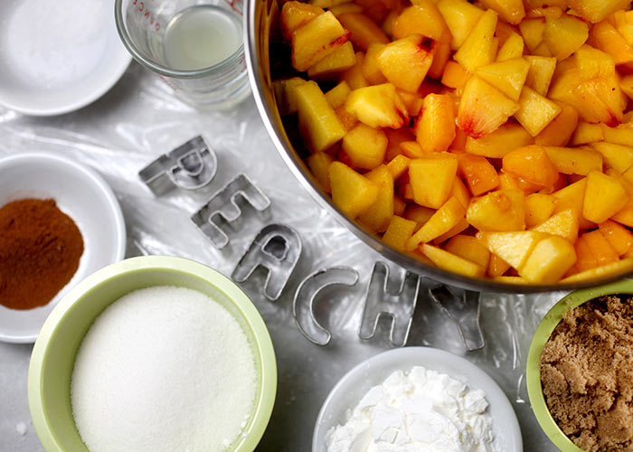 Peach Pie Filling Ingredients