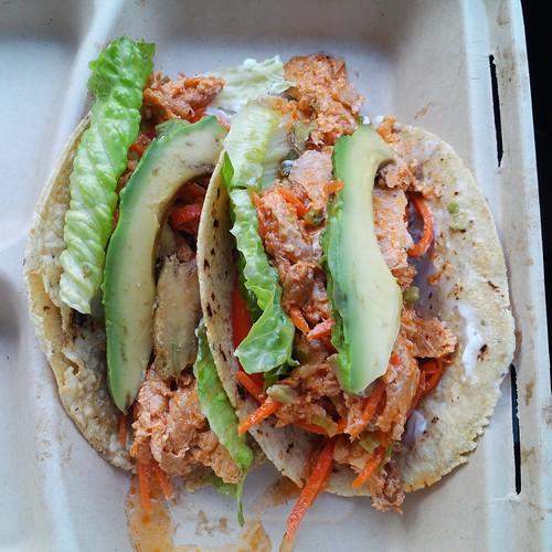 Buffalo Chik'n Tacos