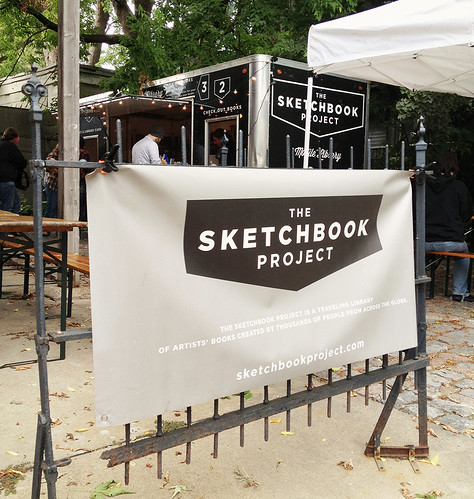 Sketchbook Project at Light Grey Art Lab