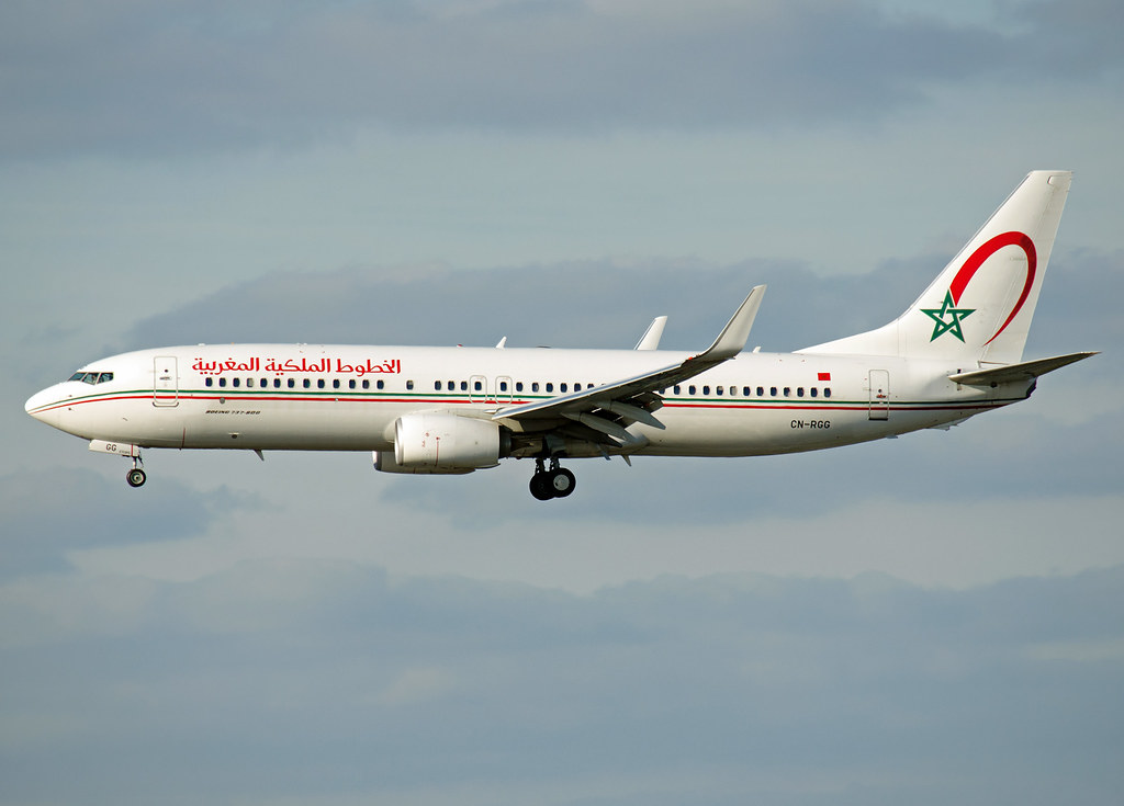 CN-RGG - B738 - Royal Air Maroc
