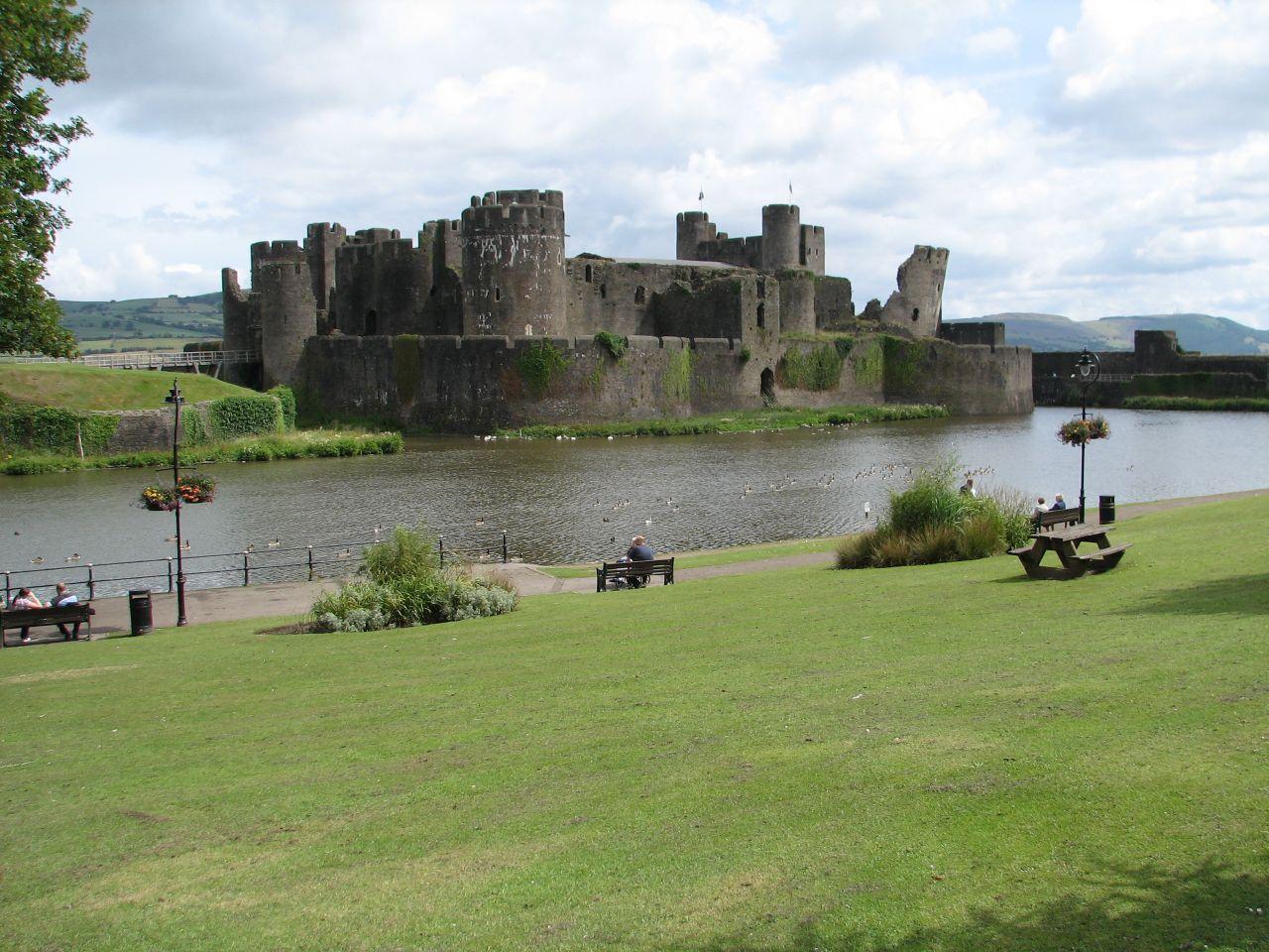 12. Gales. Castillo de Caerphilly. Autor, DanieVDM