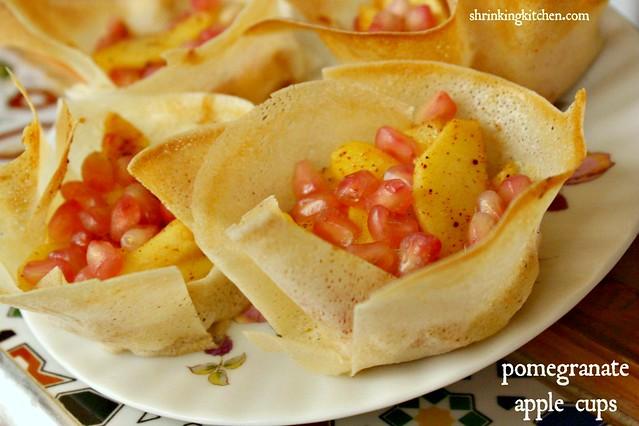 Pomegranate Apple Cups