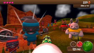 Blast Em' Bunnies Screenshot 1