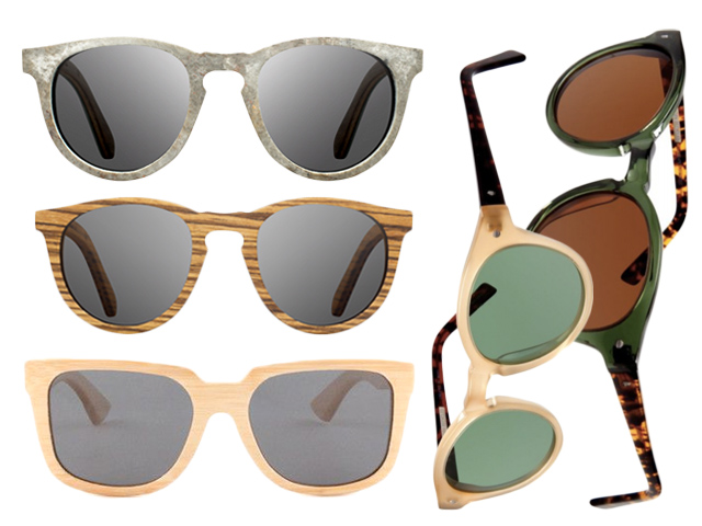 6 eco-friendly handmade bamboo sunglasses