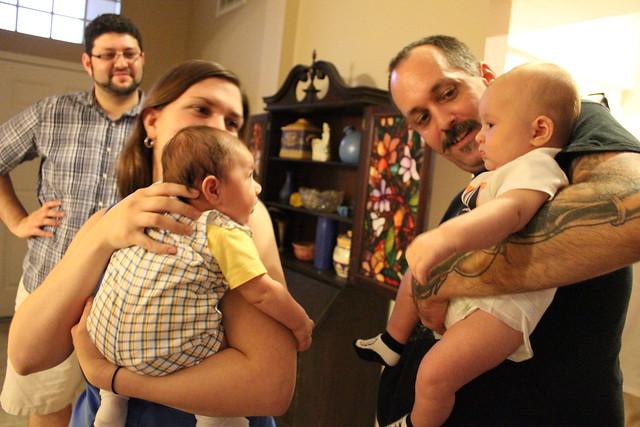 Babies & a Birthday