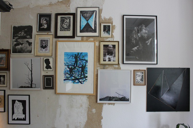Shan Blume interview - featured on artfridge, photos by artfridge, artworks courtesy Shan Blume