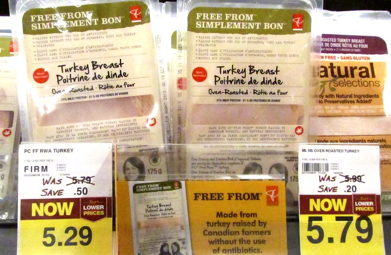 """President's Choice's """"Free From"""" Oven-Roasted Turkey Breast"""
