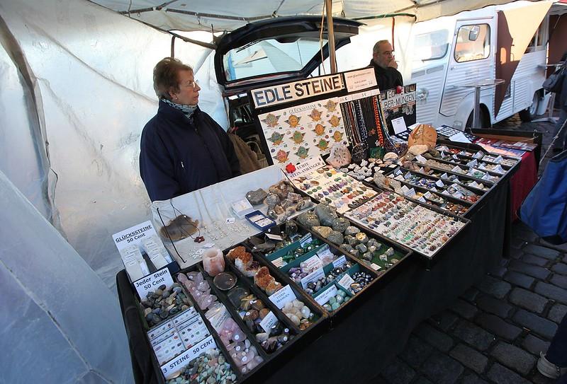 魚市場的小攤