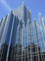 PPG Place, From Blvd. of the Allies, Downtown Pittsburgh, 2013