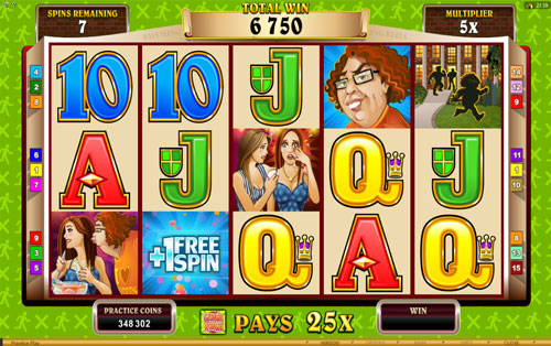 Rhyming Reels – Georgie Porgie Free Spins Feature