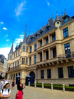Grand Ducal Palace, Luxembourg | by Andy Hay