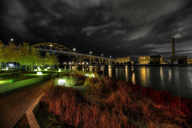 The Autumn Night arrives at Erie Street Plaza