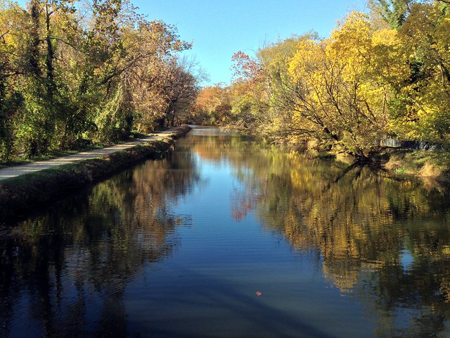 C&O Canal in fall