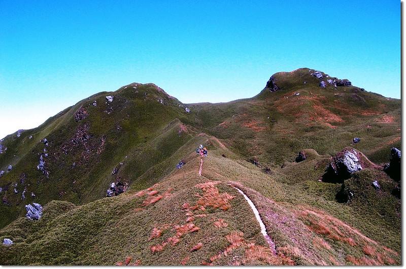 卡賀爾山(南向北望) 1