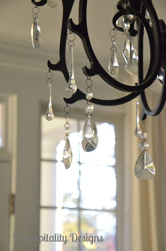 A little bling makes all the difference guest room chandelier guest room chandelier aloadofball Choice Image