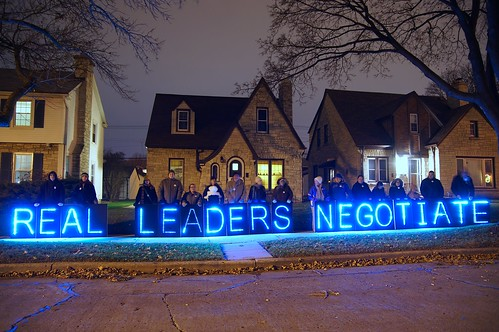 Message Is Held Across the Street From School Board Director Claire Zautke's Home 11/2013