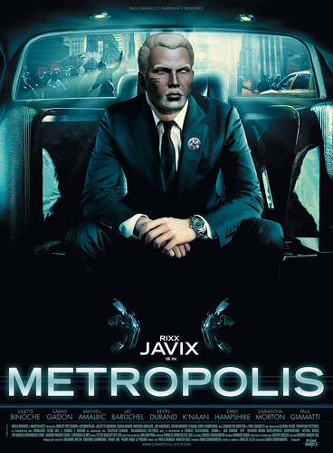 METROPOLIS Movie Poster Parody