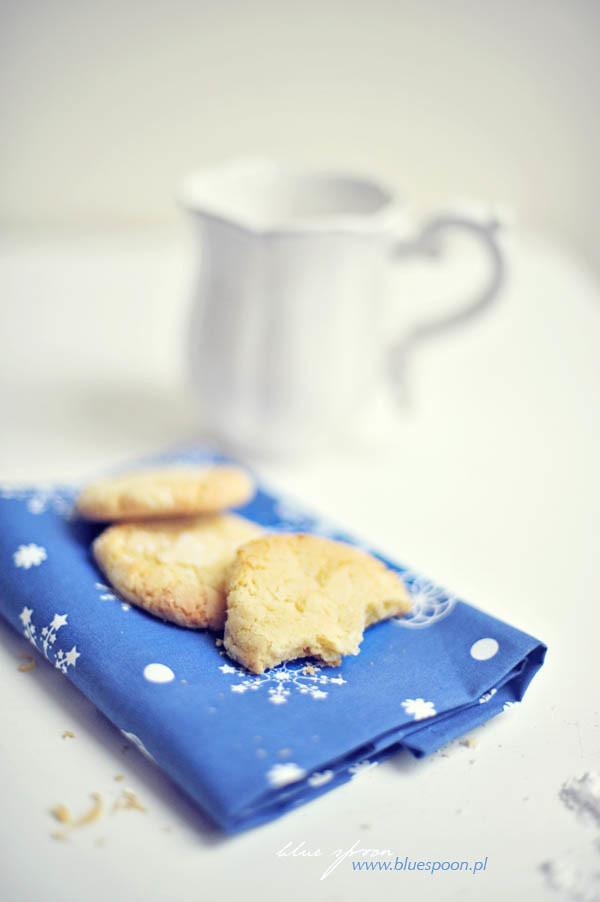 cytrynowe ciastka pomarszczone - blue spoon