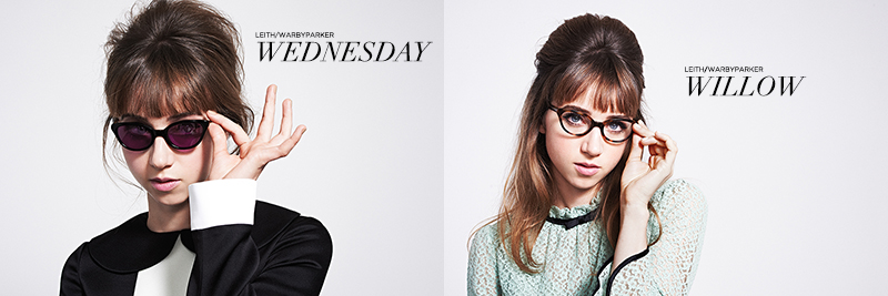 Leith x Warby Parker: Wednesday Sun Noir & Willow Optical Aldabra | www.latenightnonsense.com
