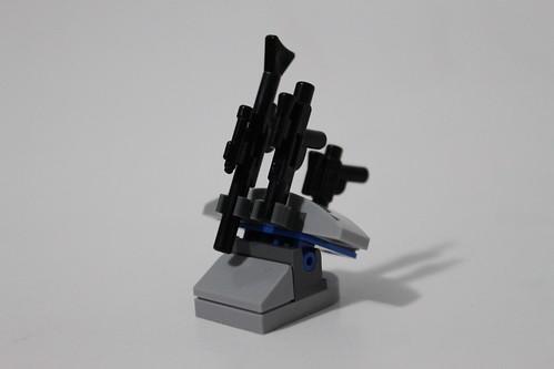 LEGO Star Wars 2013 Advent Calendar (75023) - Day 7 - Weapons Rack