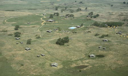 Aerial Photo of Camp Aldrich