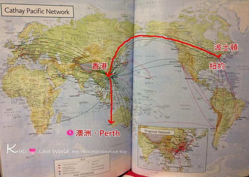 美國飛澳洲Perth