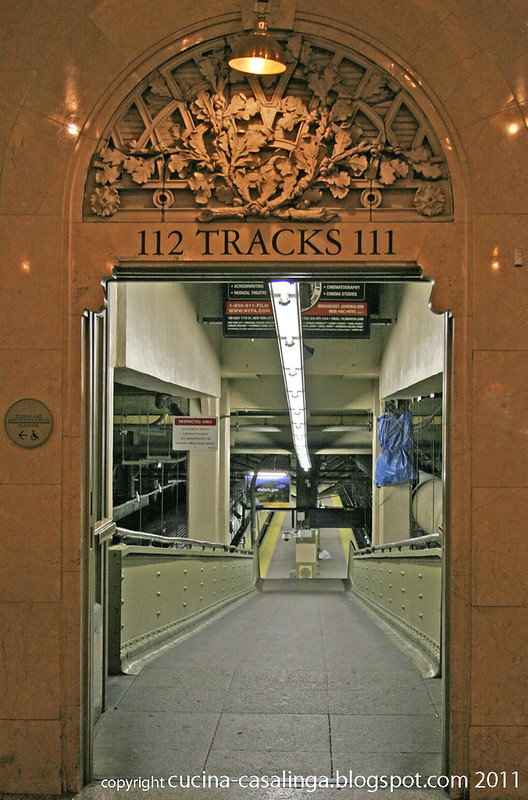 Grand Central Zugang Bahnsteige