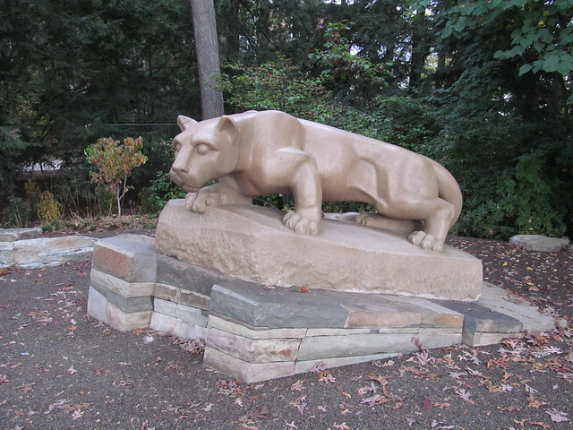 Nittany Lion Statue State College Pennsylvania Flickr
