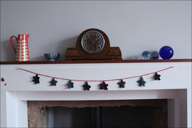 Christmas star chain