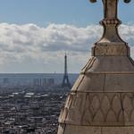 Eiffel Tower and Sacré-Cœur