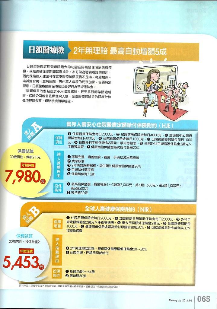 201401[Money錢No.76]2014必Buy保單大公開P.65