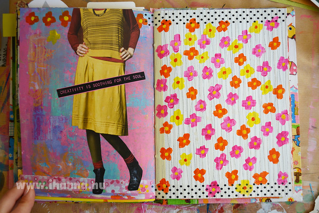 Art Journal: Soothing + Daisy Yellows