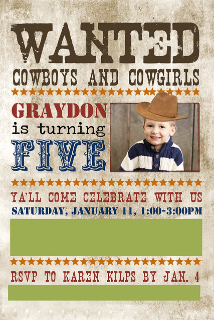 graydon 5th birthday inviteblog