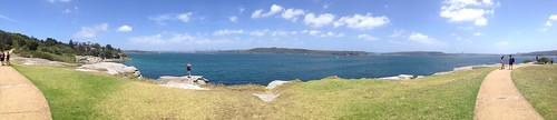 Sydney Harbour from South Head (near The Gap Bluff and Watson's Bay)