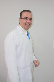 Roberto Martins, o Dr. Bactéria, em visita ao Solidariedade-SP