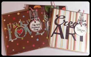Easel Card : Front (& Packaging)