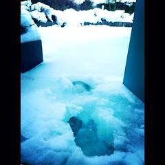 glacial landform, ice cap, ice,