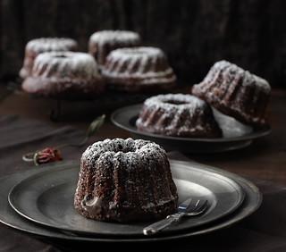 Nutella Hazelnut mini bundts