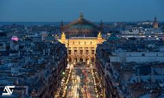 Opera Garnier from Louvre