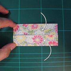 การพับกระดาษเป็นรูปเรขาคณิตทรงลูกบาศก์แบบแยกชิ้นประกอบ (Modular Origami Cube) 004