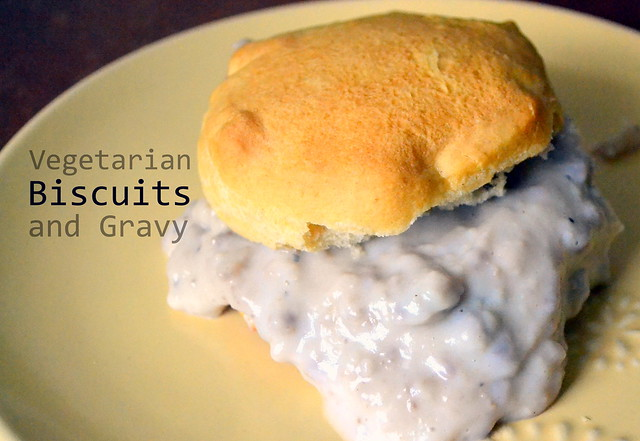 Veggie Biscuits and Gravy