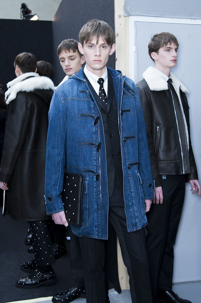 FW14 Paris Dior Homme228_Vic van der Well, Blake Sugarman, Jan Purski(fashionising.com)