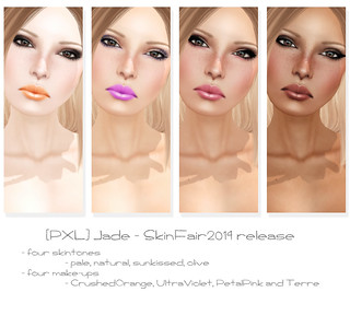 - skin fair 2014 - PXL (faces)