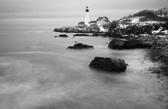 portland head lighthouse, cape elizabeth, maine