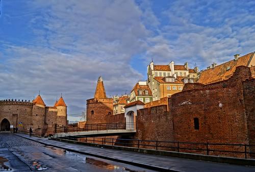 Old Town - Warsaw, Podwale
