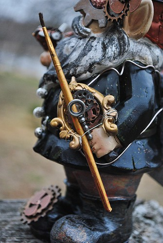 steampunk gnome bow, ALLassiter