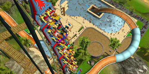 Rollercoaster Tycoon 4 out on iOS