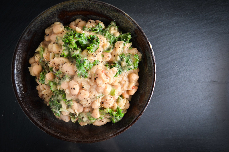 Creamy White Beans With Wilted Greens | Things I Made Today